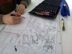 cours de dessin adolescent à Nantes